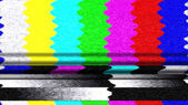 TV Color Bars 0213 — Foto Stock
