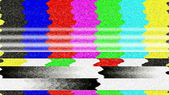 TV Color Bars 0218 — Stock Photo