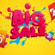 Royalty-Free Stock Vectorafbeeldingen: Department Store Big Sale Promotion