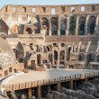 Architecture of ancient Rome. Colosseum. Italy. — Stock Photo