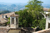 Landscape. San Marino. Italy — Stock Photo