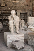 Death in Pompeii — Stock Photo