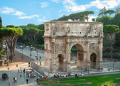 Triumphal arch. Rome. Italy — Stock Photo