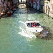 Taxi in Venice, Italy. — Stock Photo