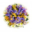 bouquet of different colors — Stock Photo