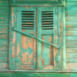 Old window. Russia. City Orel. — Stock Photo