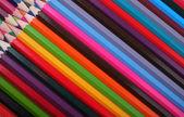 背景-彩色铅笔 — 图库照片