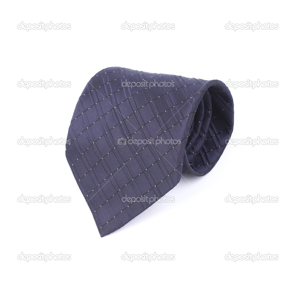 Male necktie on a white background — Stock Photo #21379107