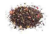 Black tea with herbs — Stock Photo