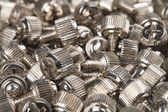 Screws for assembling a computer system — Stock Photo