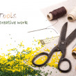 Tools for creative work - Stock Photo