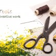 Stock Photo: Tools for creative work
