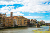 Ponte Vecchio bridge, Florence, Italy — Stock Photo