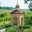 Stock Photo: Chapel near source of St. Matrona.