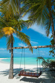 Vacation paradise in the Maldives — Stock Photo