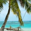 Vacation paradise in the Maldives (Lhaviyani Atoll) — Stock Photo