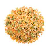 Bean mix on a white background — Stock Photo