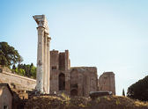 Architecture of ancient Rome. Italy. — Stock Photo