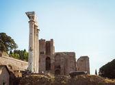 Arquitectura de la antigua roma. italia. — Foto de Stock