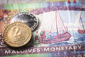Maldives money — Stock Photo