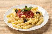 Pasta with bolognese sauce — Stockfoto
