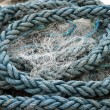 Stock Photo: Old Fishing Rope