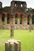 Pillars at Furness Abbey — Stock Photo