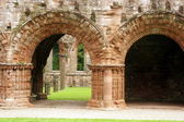 Sandstone Arches Furness Abbey — Foto Stock