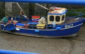 Barco de pesca pequena — Foto Stock