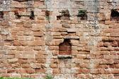 Stěny sekce v furness abbey — Stock fotografie