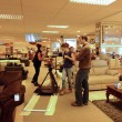 Stock Photo: Filming in Furniture Store 35