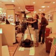 Stock Photo: Filming in Furniture Store 60