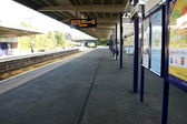 Empty Railway Station 02 — Stock Photo