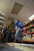 Filming in a toy shop 04 — Stock Photo
