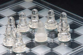Chess Surrounded — Stock Photo