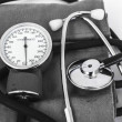 Analog sphygmomanometer — Stock Photo