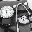 Analog sphygmomanometer — Stock Photo #24922019