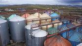 Moinhos de farinha — Foto Stock