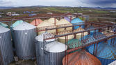 製粉工場 — ストック写真