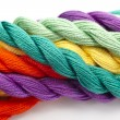 Stock Photo: Colorful wool
