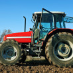 tractor agrícola sembrando semillas — Foto de Stock   #36711035