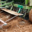 Photo: Agricultural tractor sowing seeds