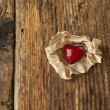 Valentines Day, red heart — Stock Photo