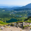Stock Photo: View from path in TatrMountains.