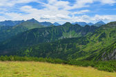 Tatra Mountains from Giewont. — Stock Photo