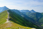 View from Kasprowy Wierch. — Stock Photo
