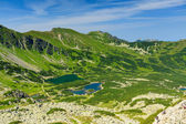 View from path in Tatra Mountains. — Stock Photo