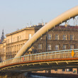 Bridge over Vistula river at sunset time, Krakow, Poland — Stock Photo #14212037