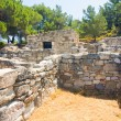 Kamiros, Ancient ruins, Rhodes — Stock Photo