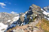Landscape of Gasienicowa valley, Karb and Koscielec - High Tatra — 图库照片